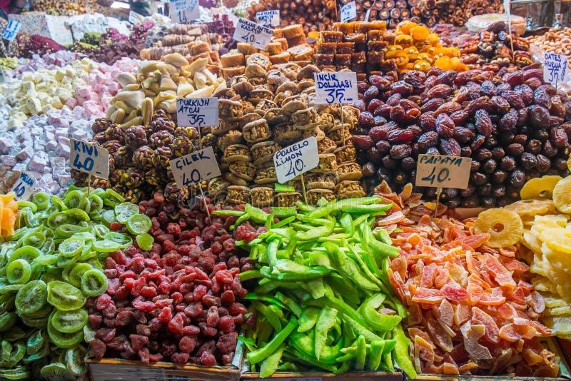土耳其快乐糖 免版税图库摄影