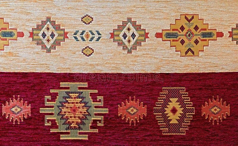 土耳其样式地毯 库存图片