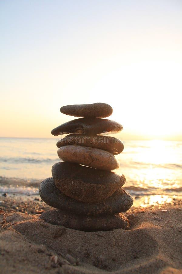 土耳其海滩风景,夏天 免版税库存照片