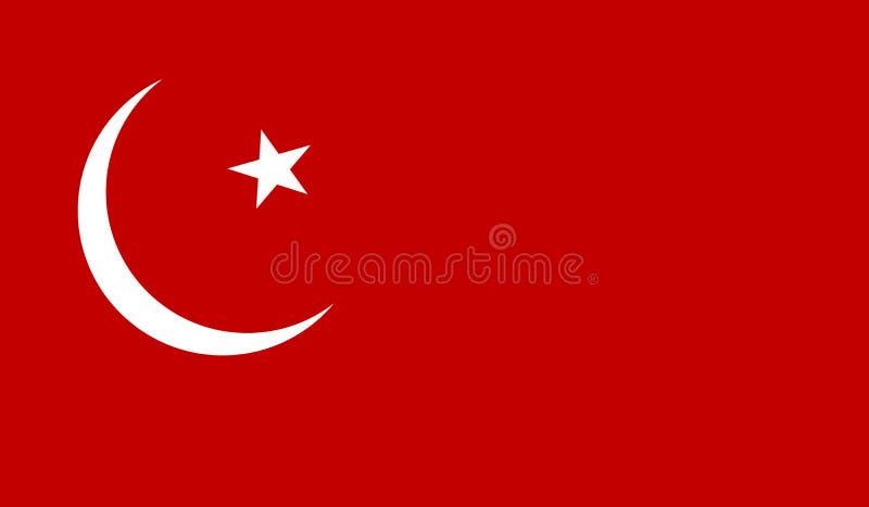 土耳其的标志 向量例证