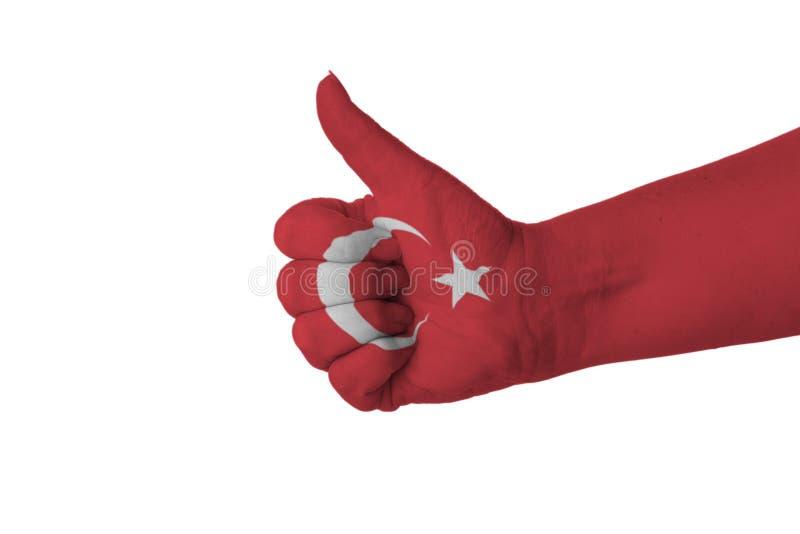 土耳其的赞许 免版税库存图片