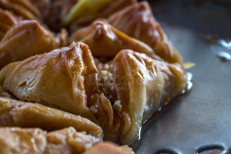 土耳其语蛋糕Baclava 免版税库存图片