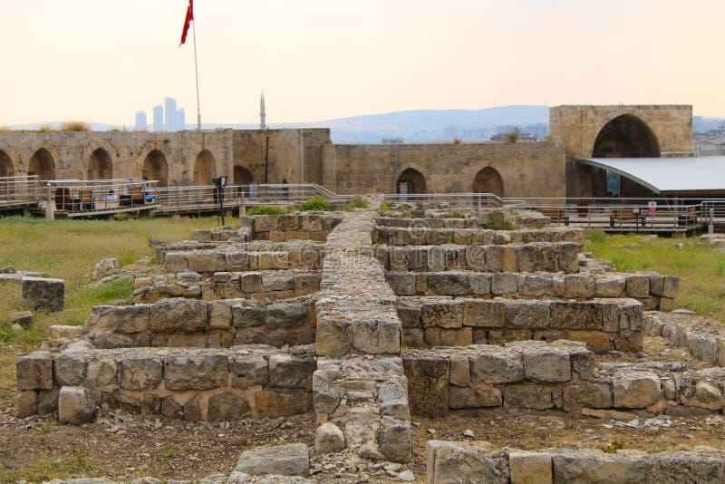 土耳其语,加济安泰普,6月24日,- 2019年:加济安泰普城堡 库存照片