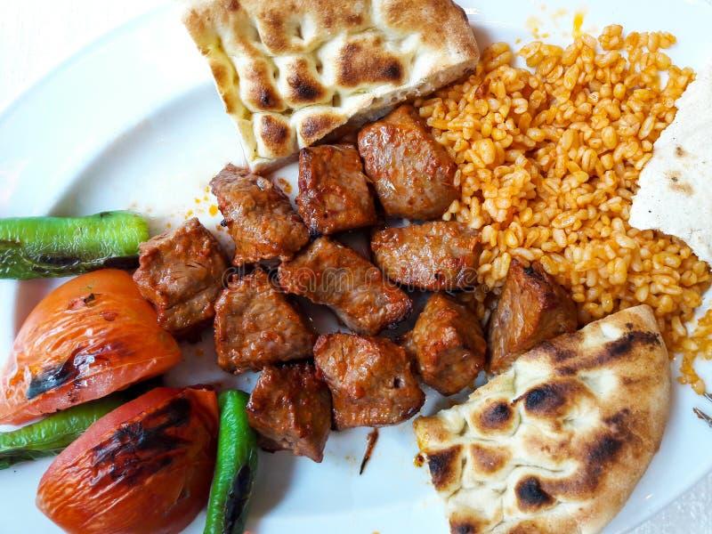 土耳其语Kebab羊羔肉/Kuzu Sis 免版税图库摄影