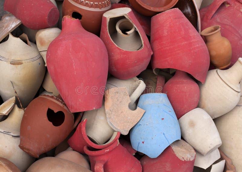 土耳其陶瓷水罐 图库摄影