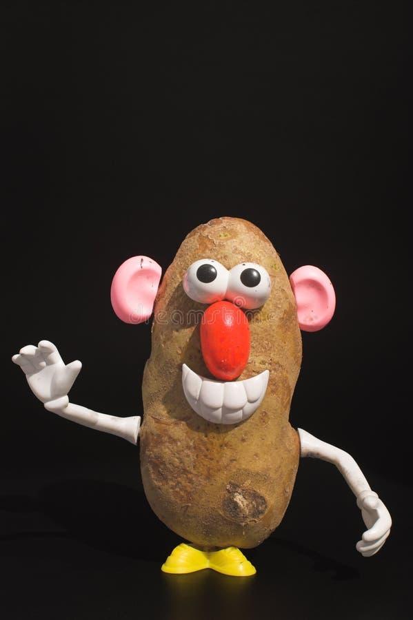 土豆人 库存图片