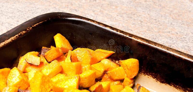 土豆烤了甜点 图库摄影