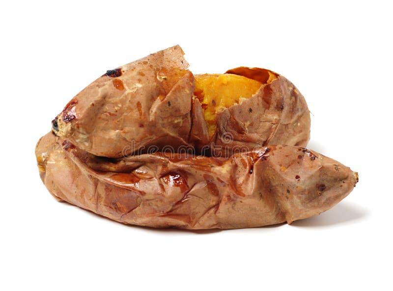 土豆烤甜点 免版税库存图片