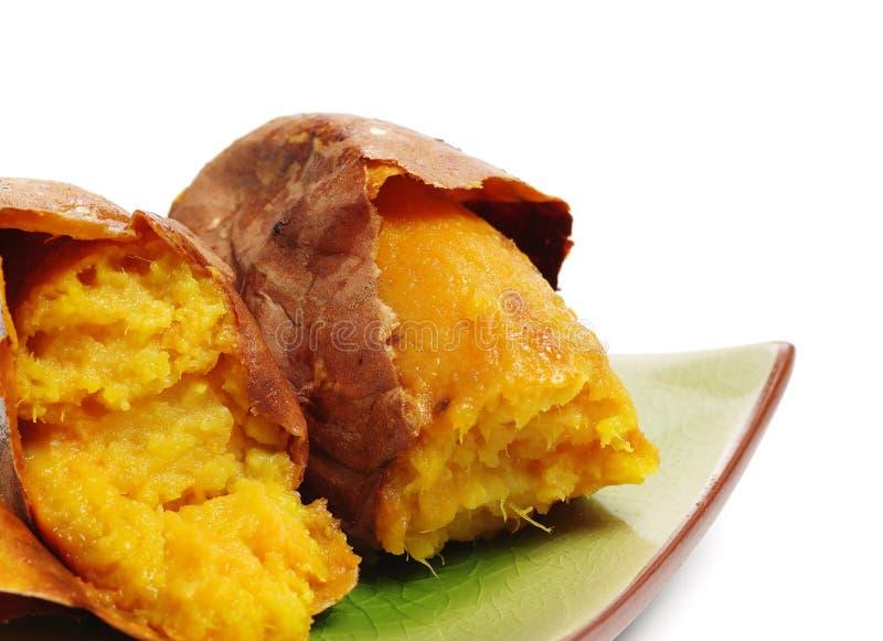 土豆烤甜点 库存图片