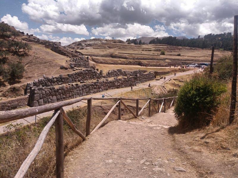 土路和考古学站点 库存照片