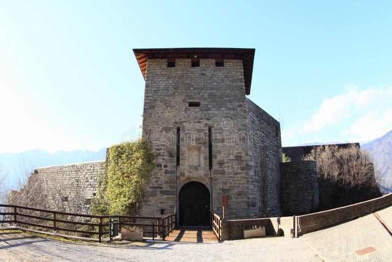 圣乔万尼城堡 免版税库存照片