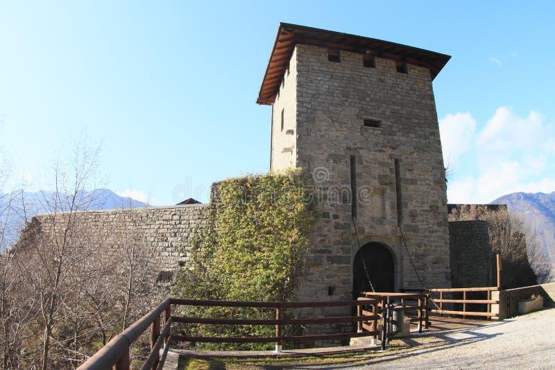 圣乔万尼城堡 库存图片