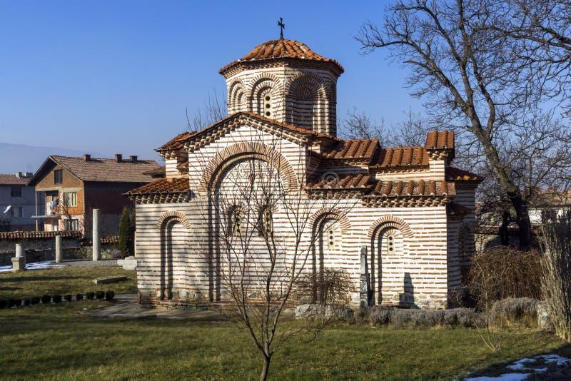 圣乔治教会在丘斯滕迪尔,保加利亚镇  免版税库存图片