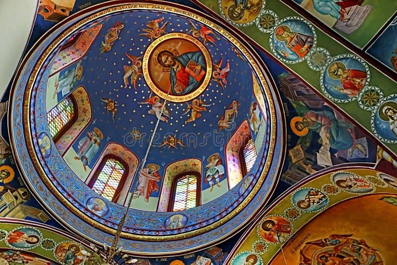 圣乔治, Kafr Cana,以色列希腊东正教  免版税图库摄影