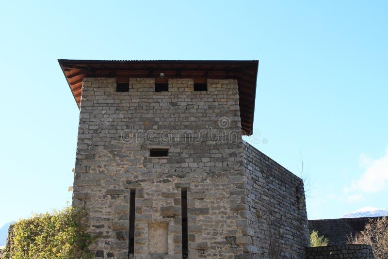 圣乔瓦尼城堡塔 图库摄影