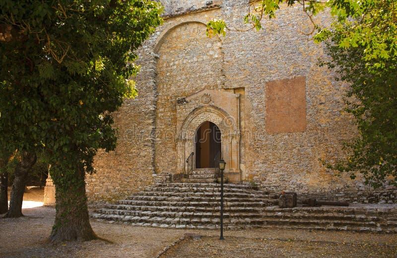 圣乔瓦尼巴蒂斯塔教会,埃里切 免版税图库摄影