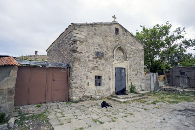 圣乔治教会在Feodosia 免版税图库摄影