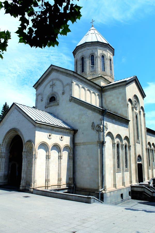 圣乔治Cashueti教会  免版税库存照片