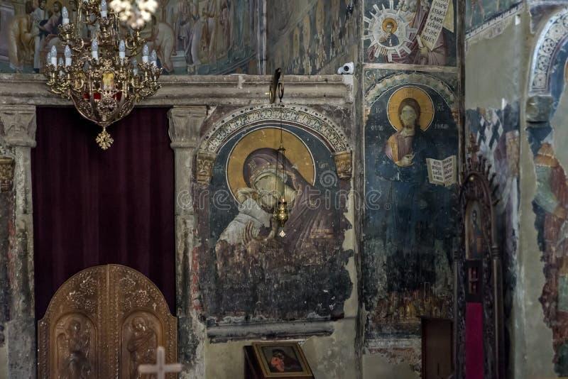 圣乔治Crkva Svetog Djordja教会  免版税库存图片