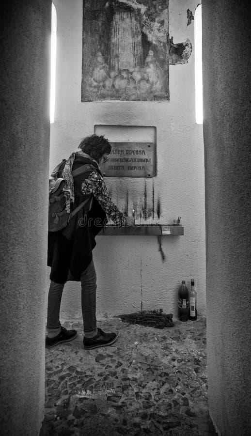 圣乔治Crkva Svetog Djordja教会  免版税图库摄影