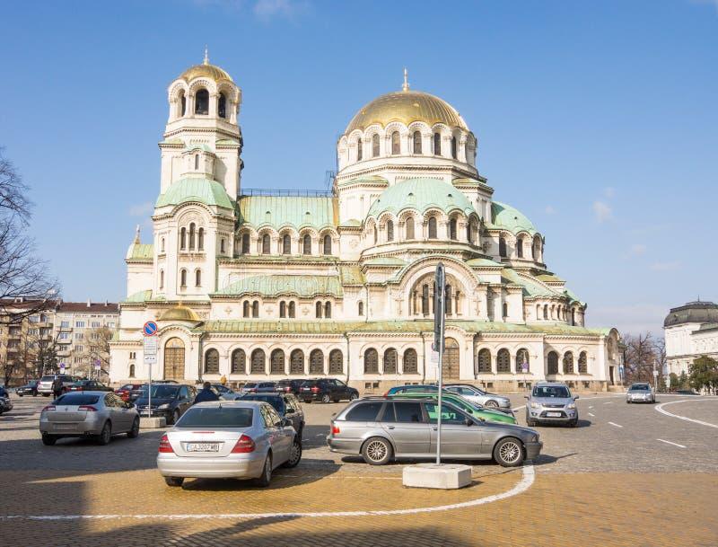 索非亚-保加利亚共和国的首都 它是大城市在国家图片