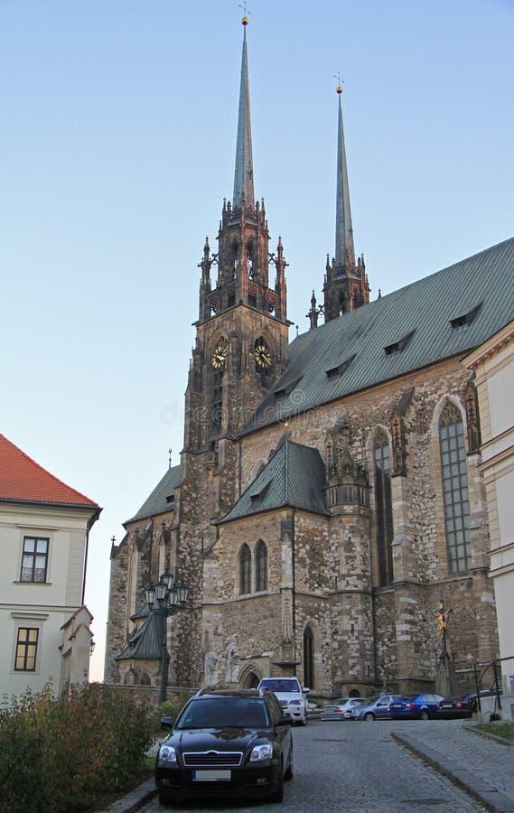Download 圣伯多禄和保罗大教堂在布尔诺 库存图片. 图片 包括有 纪念碑, 横向, 哥特式, 吸引力, 城堡, 布琼布拉 - 72358251