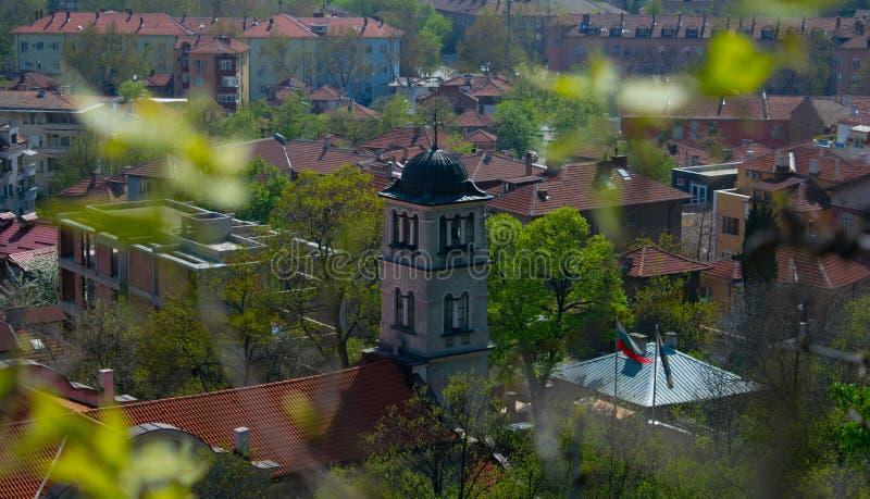 圣伯多禄和Pavel教会在普罗夫迪夫,保加利亚 免版税库存照片