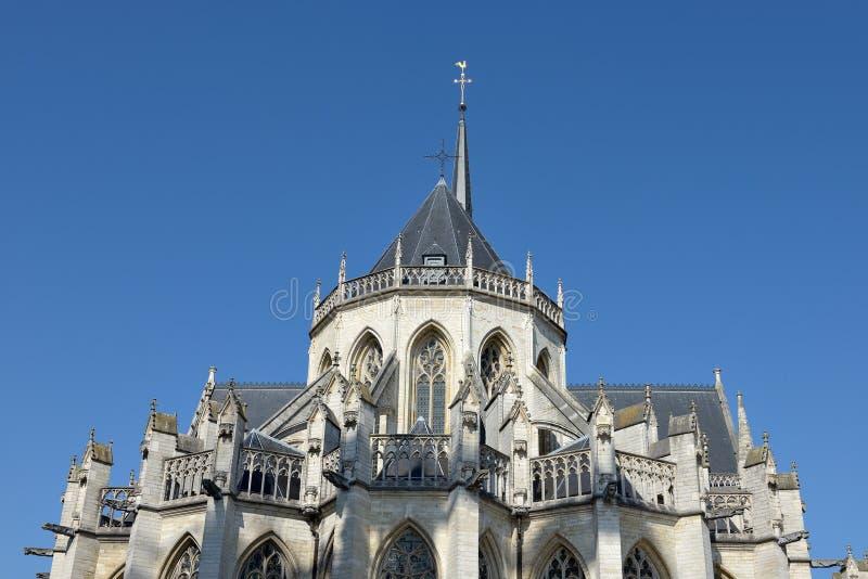 圣伯多禄教会在鲁汶,比利时 免版税库存照片