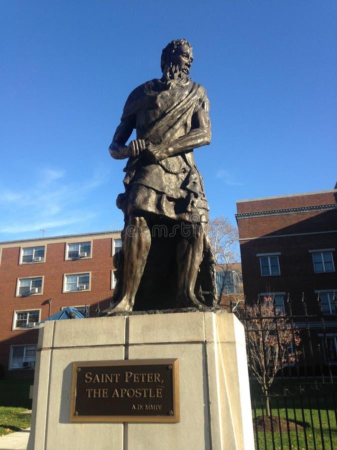 圣伯多禄雕象,传道者 免版税库存图片