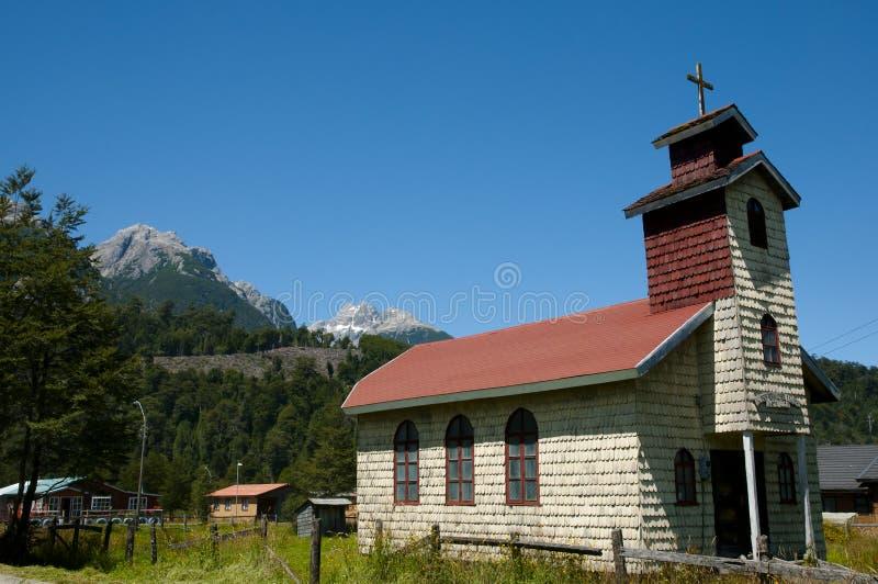 圣何塞Obrero教会-圣诞老人露西娅-智利 免版税图库摄影