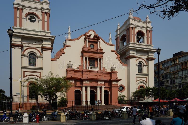 圣佩德罗苏拉 洪都拉斯 库存照片