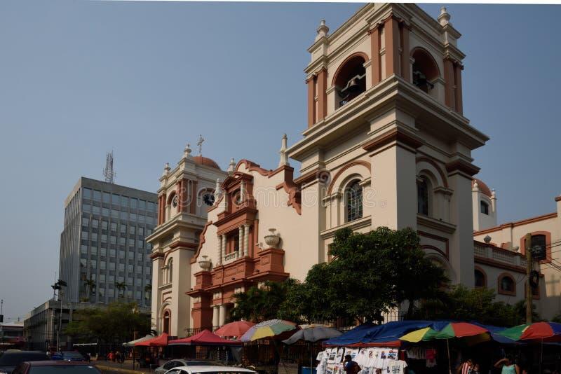 圣佩德罗苏拉 洪都拉斯 免版税库存照片