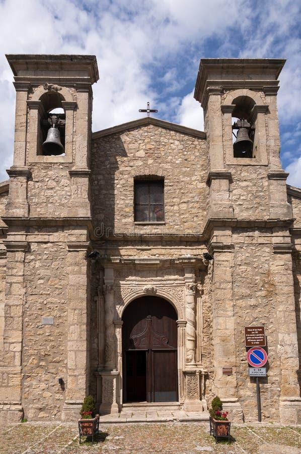 圣保洛教会  免版税库存照片