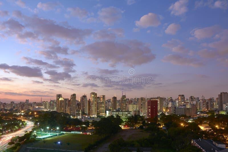 圣保罗伊比拉布埃拉公园 图库摄影