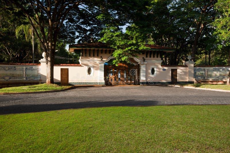 圣保罗大学在里贝朗普雷图-巴西 2017年7月 库存照片