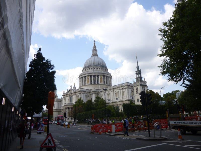 圣保罗大教堂在Southwark,伦敦 库存图片