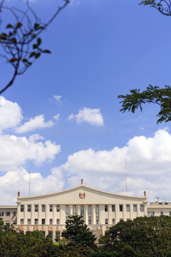 圣保罗州长的豪宅和办公室 免版税库存照片