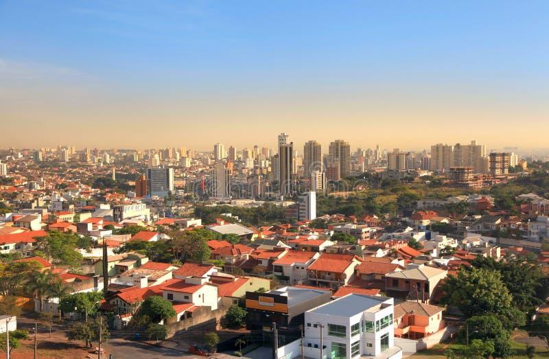圣保罗状态的索罗卡巴 免版税库存照片