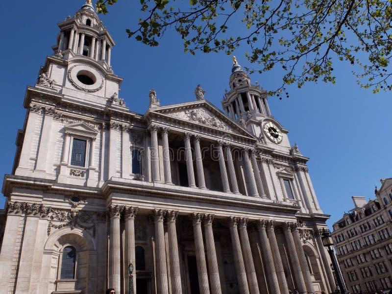 圣保罗的大教堂 免版税库存图片