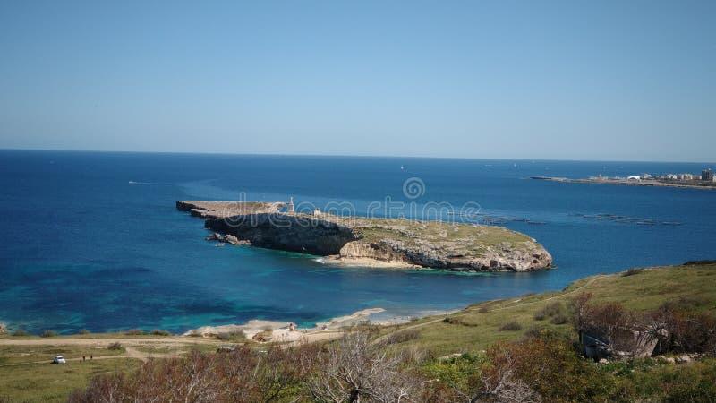 圣保罗& x27;s海岛马耳他 免版税图库摄影