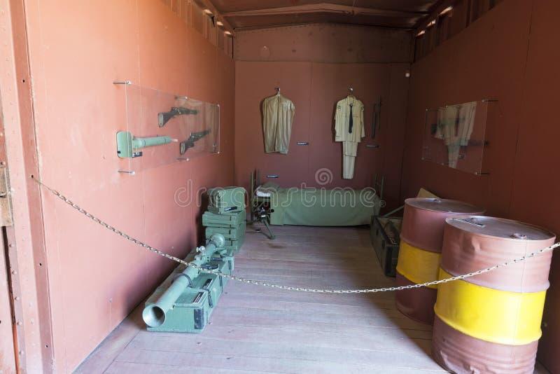 圣克拉拉火车纪念品 库存照片