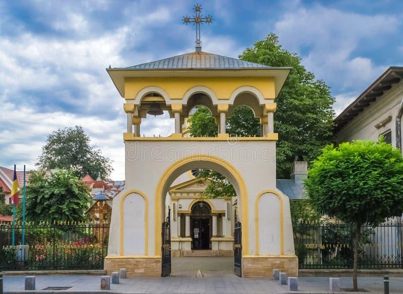 圣克罗斯和圣徒蓬蒿伟大的教会 免版税库存图片