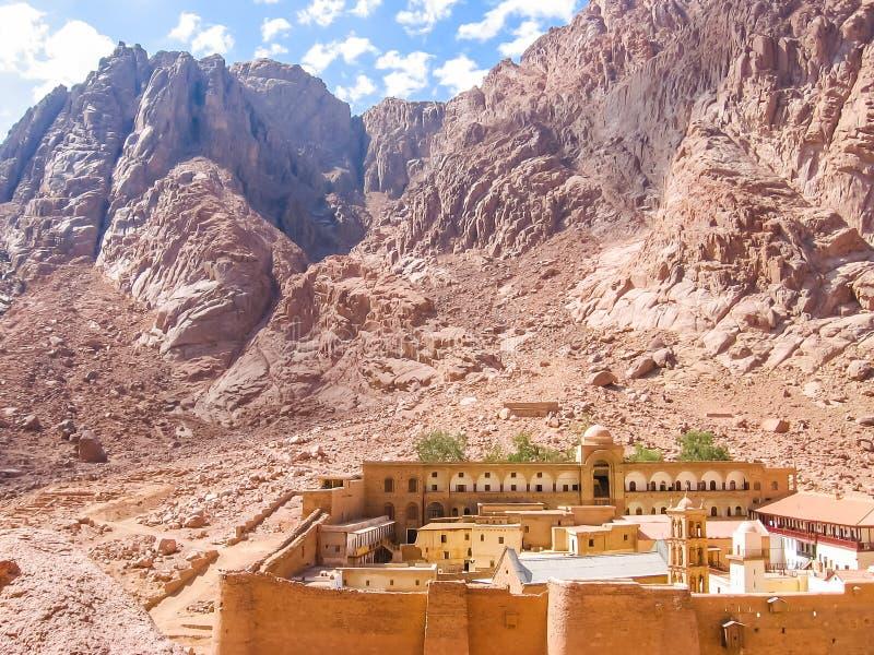 圣凯瑟琳埃及修道院  免版税库存图片