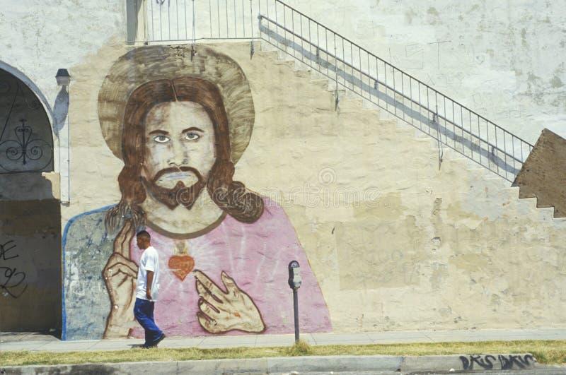 圣加百利使命博物馆在加利福尼亚建立了1771 图库摄影
