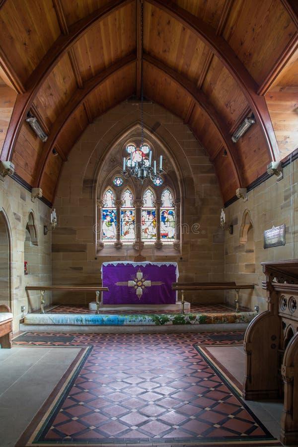 圣劳伦斯教堂高坛图章 免版税图库摄影