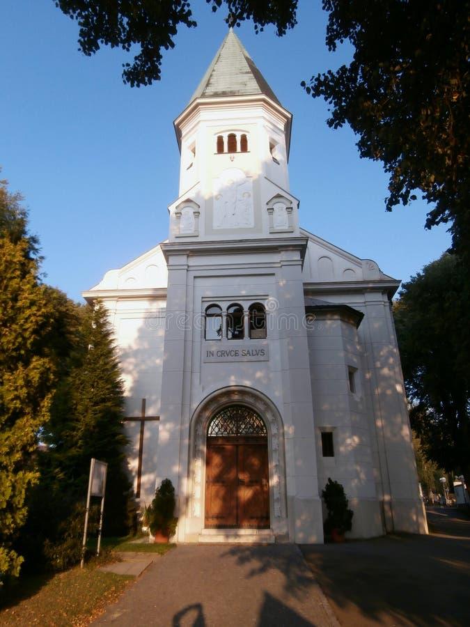 圣劳伦斯湾教会 免版税库存照片