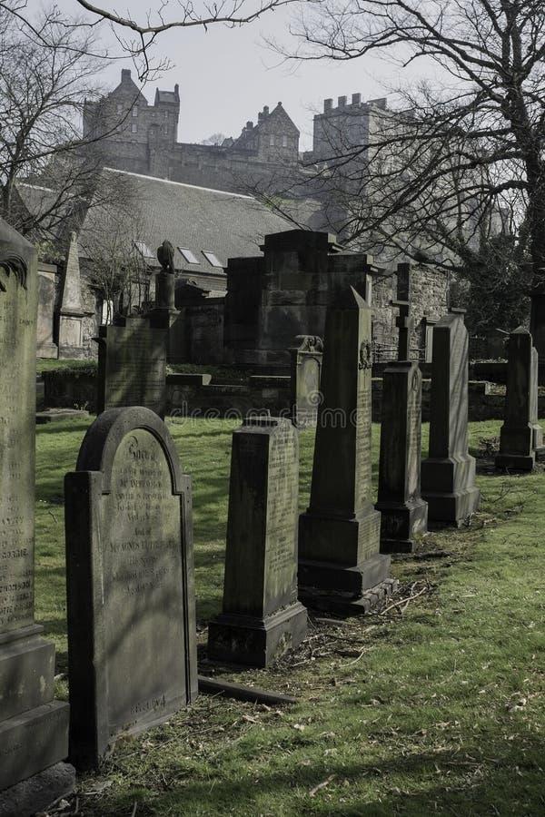 圣卡思伯特公墓教区教堂  库存照片