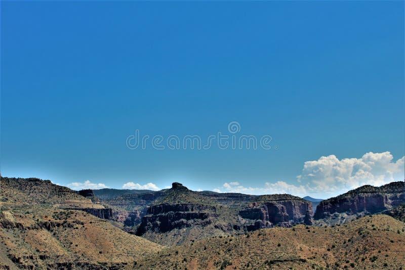 圣卡洛斯亚帕基印第安保护区,希拉县,亚利桑那,美国 库存照片