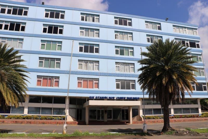 圣卢西亚内政部和内部安全 免版税库存照片