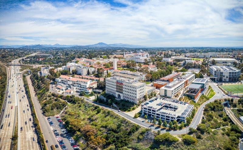 圣地亚哥州立大学 库存照片